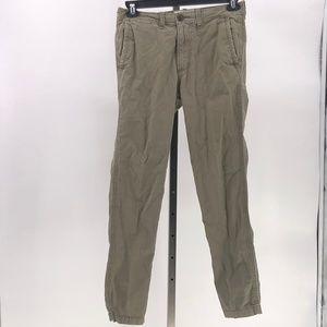 Abercrombie & fitch mens khaki pants tag sz 29x30
